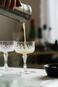 Apple Flip Cocktail Recipe by Ashley Rodriguez | west elm