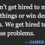 Design solves problems.