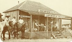 The Old West.