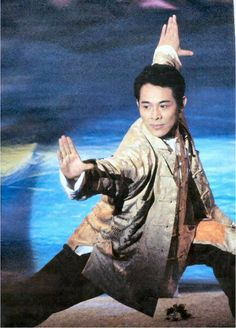 Jet Li performing at the Hongkong Handover Ceremony