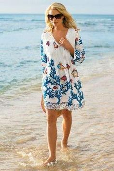 Soft Surroundings Seychelles Tunic