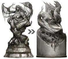Melandru statue - Game: Guild Wars 2