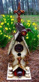 Reclaimed Rustic Birdhouse