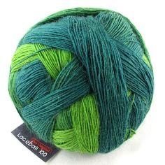 Schoppel Lacebol 100 Merino - 2168 Evergreen