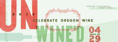 For all my friends in #Oregon! Please go to this great #Oregonwine event! I wish I could be there!