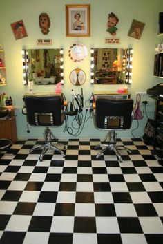 1950s Beauty parlor. This would be a very credible source because it is a picture of the exact parlor from the time period. There is not much change from this parlour to a salon today. Because they both have mirrors, a chair, appliances. They only difference that the parlour today could have would be technology in the appliances, and the decor of the parlour would be more updated to todays time period. So this is would be a change in history