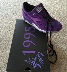 "Raekwon x Packers x Diadora n9000 ""purple tape"" signed box  #diadora #n9000 #purpletape #packershoes #wlu #wdywt #womft #runnergang #runnersonly #retrorunners #theshoegame #instakicks #igsneakercommunity #supreme #grailgang #holygrailrunners #kotd #kicksonfire #lpu #cincykicks #complexkixks by tylerb513"