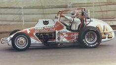 AJ Foyt 1982 Indiana State Fairgrounds AJ's last dirt race Sprint Car Racing, Dirt Track Racing, Auto Racing, Classic Sports Cars, Classic Cars, My Champion, Old Race Cars, Vintage Race Car, Indy Cars