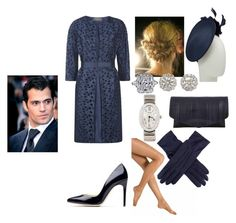Alexandra, Reception and Luncheon at Mons Town Hall and Twilight Ceremony at Saint Symphorien Cemetery for soldiers that died in the Great War with foreign dignitaries and John by helloimfay on Polyvore featuring polyvore, fashion, style, MaxMara, Falke, Rupert Sanderson, Maison Margiela, Cartier, Dents, John Lewis and clothing