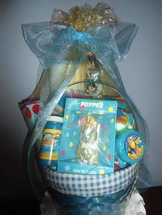 Boys Easter Basket made by MKK