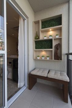 70 cozy and stylish small balcony design ideas 44 Small Balcony Design, Small Balcony Decor, Balcony Ideas, Terrace Ideas, Garden Ideas, Patio Ideas, Garden Art, Apartment Balcony Decorating, Apartment Balconies
