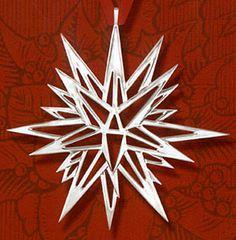 Froebel Moravian Star Strip Weaving Papers 50 Pack Navy 1 inch