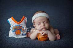 Royce Winnick Photography newborn basketball NY Knicks baby!