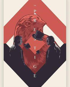 The Prestige alternative movie poster uploaded by SWIPE for details 🔎 The Prestige Movie, Nolan Film, Top Film, Cinema, Fantasy Films, Alternative Movie Posters, Christopher Nolan, Movie Poster Art, Album Covers