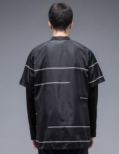 STAMPD Layered Coaches Jacket Model Picture