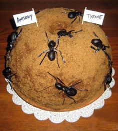 Ant Hill Cake