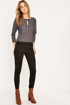 Urban Outfitters Split Front Top - Urban Outfitters