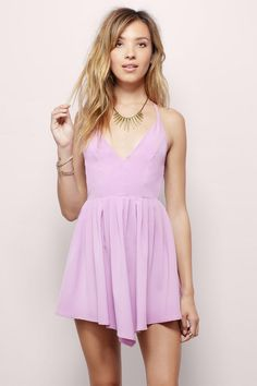 Eirene Skater Dress at Tobi.com #shoptobi