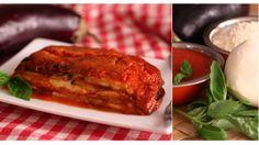 Parmigiana di Melanzane | Layered #Eggplant  with #Tomato and #Parmesan, Campania