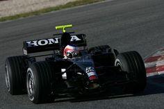 2007 Honda RA107 - Honda Racing F1 Team