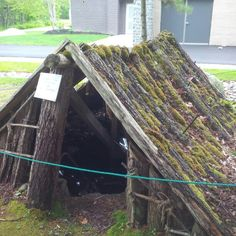 """""""Pit hut"""" as used by Black Loyalists @ Birchtown for shelter to overwinter."""