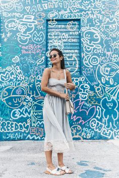 Miami-Lingerie_Dress-Marni_Sandals-Outfit-Collage_Vintage-Street_Style-Lace-2
