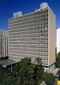 Palácio capanema  EDIFÍCIO DO MES (MINISTÉRIO DA EDUCAÇÃO E SAÚDE) Rua da Imprensa, 16. Projeto Lúcio Costa, Jorge Moreira, Affonso Eduardo Reydi, Carlos Leão, Ernani Vasconcelos e Oscar Niemeyer. 1936.