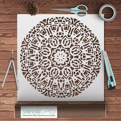 Hey, I found this really awesome Etsy listing at https://www.etsy.com/listing/245822861/round-decorative-mandala-style-stencil