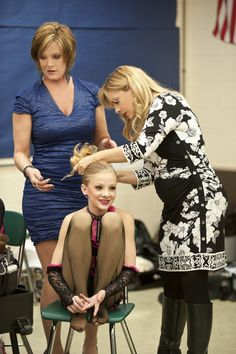 Any dancer know that a performance requires ample prep time. Brooke And Paige Hyland, Chloe And Paige, Mom Season 1, Dance Moms Season, Little Women Atlanta, Salsa Dress, Dance Moms Girls, Tribal Belly Dance, Ballroom Dance Dresses