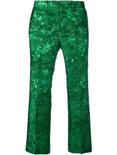 e064a4c54f DRIES VAN NOTEN Metallic Jacquard Trousers.  driesvannoten  cloth ...