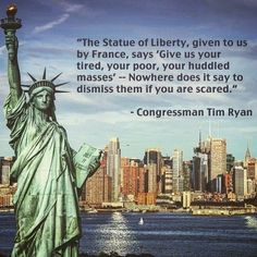 Quote On Statue Of Liberty Idea tim ryan statue of liberty quote liberty quotes statue Quote On Statue Of Liberty. Here is Quote On Statue Of Liberty Idea for you. Quote On Statue Of Liberty give me your tired your poor your huddled mass. Statue Of Liberty Quote, Liberty Quotes, Refugee Quotes, Give Me Your Tired, Robin Williams Quotes, Number Quotes, America Quotes, Keep It Real, Bible Verses Quotes
