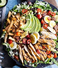 ¼ cup fresh lime juice 1/3 cup + 3 tablespoons olive oil 2 teaspoons Old El Paso Salsa Seasoning Mix 1 jalapeno, seeded + diced 1 cup fresh cilantro, chopped Salt + pepper, to taste 1 pound boneless skinless chicken breast (about 4 small breast) 1 packet Taco Seasoning 2…