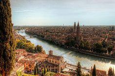 Verona. Italia. La Ciudad de los Enamorados