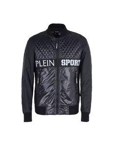 4d9d7c16f3 PLEIN SPORT Jackets in Black Sports Jacket