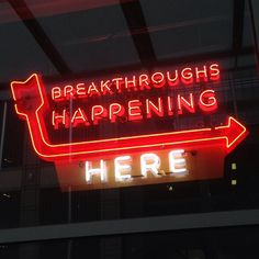 Tuesday morning brain candy. A great #neon sign. by gregmeyer, via Flickr