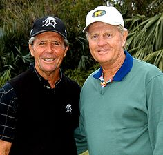 Two of golfs most decorated icons Jack Nicklaus and Gary Player will compete as a team at the Liberty Mutual Insurance Legends of Golf Famous Golfers, Byron Nelson, Liberty Mutual, Golf Chipping Tips, Golf Tips Driving, Jack Nicklaus, Golf Player, Sport Icon, Play Golf