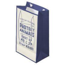 Protect Animals Small Gift Bag