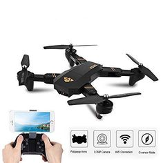 Foldable Drone Quadcopter with Camera Wifi FPV Altitude Hold Flips Rolls Gift Drones, Drone Quadcopter, Rc Drone With Camera, Box Camera, Camera Selfie, Wifi, Buy Drone, Drone Diy, Pilot