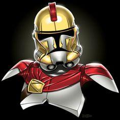 Star Wars Stormtrooper Mashups by Jon Bolerjack - Spartan