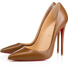 So Kate 120mm Indiana Leather (1,225 BAM) ❤ liked on Polyvore featuring shoes, pumps, heels, sapatos, pointed toe high heels stilettos, pointed toe pumps, stilettos shoes, christian louboutin pumps and stiletto pumps