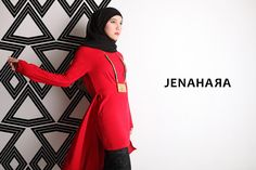 Love her style...hijabi but with gothic touch