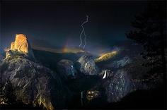 Yosemite Lightning Strike by Nolan Nitschke