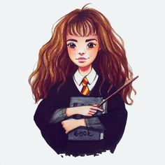 Les stars façon cartoon : Emma Watson aka Hermione
