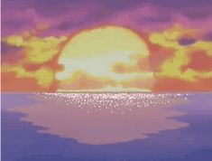 anime aesthetic Retro Aesthetic, Aesthetic Anime, Things To Do, Thailand, Animation, Sunset, Drawings, Outdoor, Lemon Cream