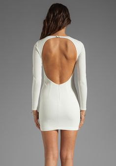 Shop for BEC&BRIDGE Estella Long Sleeve Backless Dress in Ivory at REVOLVE. Free day shipping and returns, 30 day price match guarantee. French Wedding Dress, Wedding Dresses, Long Sleeve Backless Dress, Free Clothes, Revolve Clothing, Fashion Company, Sexy Outfits, Everyday Fashion, Style Inspiration