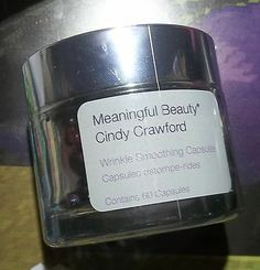Meaningful Beauty WRINKLE SMOOTHING CAPSULES ADVANCED Cindy Crawford 60-Capsule