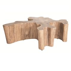Log Coffee Table | Indoor-Outdoor
