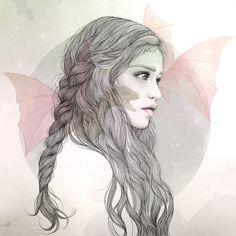 Daenerys Targaryen by Mercedes deBellardZupi