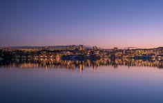 Gröndal blue hour reflection