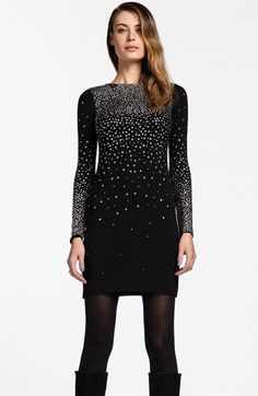 Cynthia Steffe 'Natasia' Studded Jersey Dress | Nordstrom Work Christmas Party??? comments?